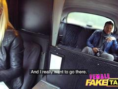 Female Fake Taxi Hot fuck and facial finish after sexy back seat photos