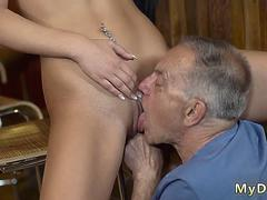 Old man milf first time Can you trust your gf leaving her alone with your father