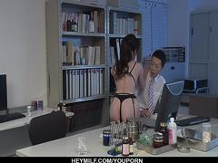 Crazy cock sucking skills from Sara Yurikawa - More at Japanesemamas.com