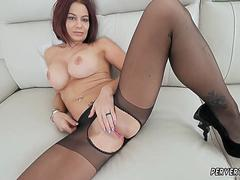 Milf hairy masturbation solo and call mom first time Ryder Skye in Stepmother Sex Sessions