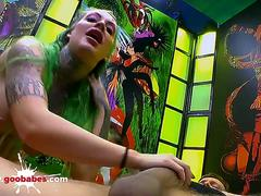 Phoenix Madina the Tattooed Cum lover - German Goo Girls