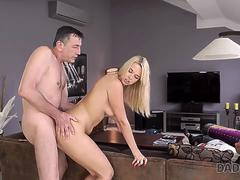 DADDY4K. Beautiful Dream Nikki gives BFs dad her pussy and mouth