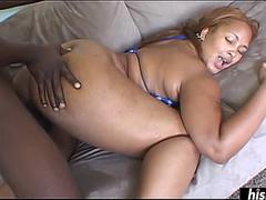 Angie Love gets smashed on the floor