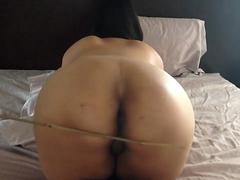 Dry anal after Caning