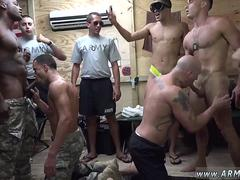 Gay marine porno physical first time The Troops came ready to party