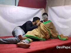 Young Desi Indian Bhabhi Married Couple Love Making Sex Video