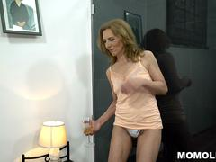 Hairy GILF Fucked By Younger Stud