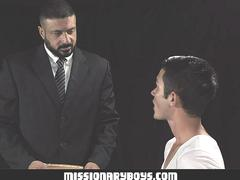 MissionaryBoys -Tight Boy Hole Gets Pounded By Buff Priest