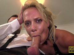 PASCALSSUBSLUTS UK MILF Sasha Steele Ass Fucking Domination