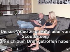 Husband Caught German Wife Cheating and Join Threesome