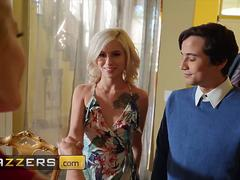 Brazzers Moms in control Joslyn James Kiara Cole Ricky Spanish A Lesson In Footplay