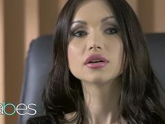 BABES Office Obsession Sasha Rose Kristof Cale Quite The Package