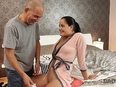 DADDY4K. Bad girl Dolly Diore decides to have wild sex with older man