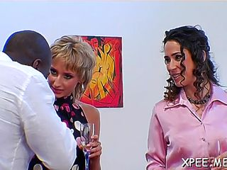 Glorious pepper fucking a pussy tester