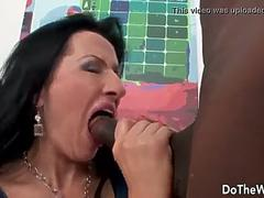First time casting of cuckold wife for black cock creampie - RealMilfDates