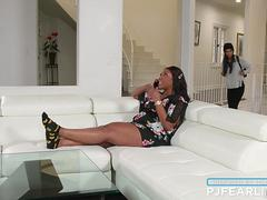 Interracial Lesbian Sex By Gianna   Chanell