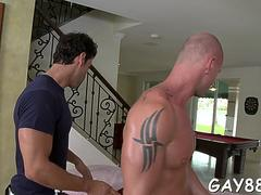 getting ass filled at massage movie film 1