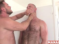 MANALIZED Dylan Dukes Fed Cock and Fucked at the Urinals