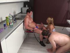 virgin loser cuckold joschi get humiliated by master and princess nicole