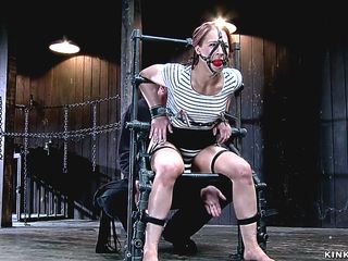 Video 1507866502: cheyenne jewel, bound gagged whipped, slave bound gagged, whipped butt plugged, slave ass whipped, chained whipped, gagged redhead slave, master whips, spread whipped, bdsm spanking, legs whipping, slave positions, hd bdsm