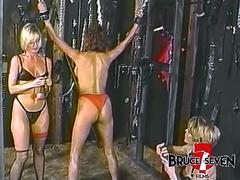 BRUCE SEVEN - Fit to be Tied, Sharon Kane, Tianna and Elise Di Medici