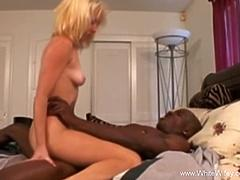 Blonde Slut Gets Her Ass Fucked By BBC
