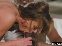BLACKED Singer Aila cant resist her new producers BBC
