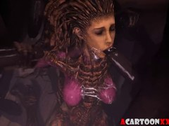 Starcraft futanari and Overwatch sex collection