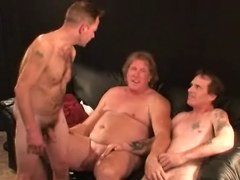Mature Amateur Threesome