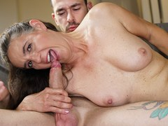 Lucky Young Dude Gets to fuck the neighbor lady