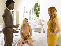 New Black Stepdad Wants To Take Care Of His Stepdaughter Kali Roses