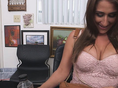 Lusty Busty Skyler Luv Gets Broken In