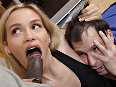 Humiliated cuckold husband